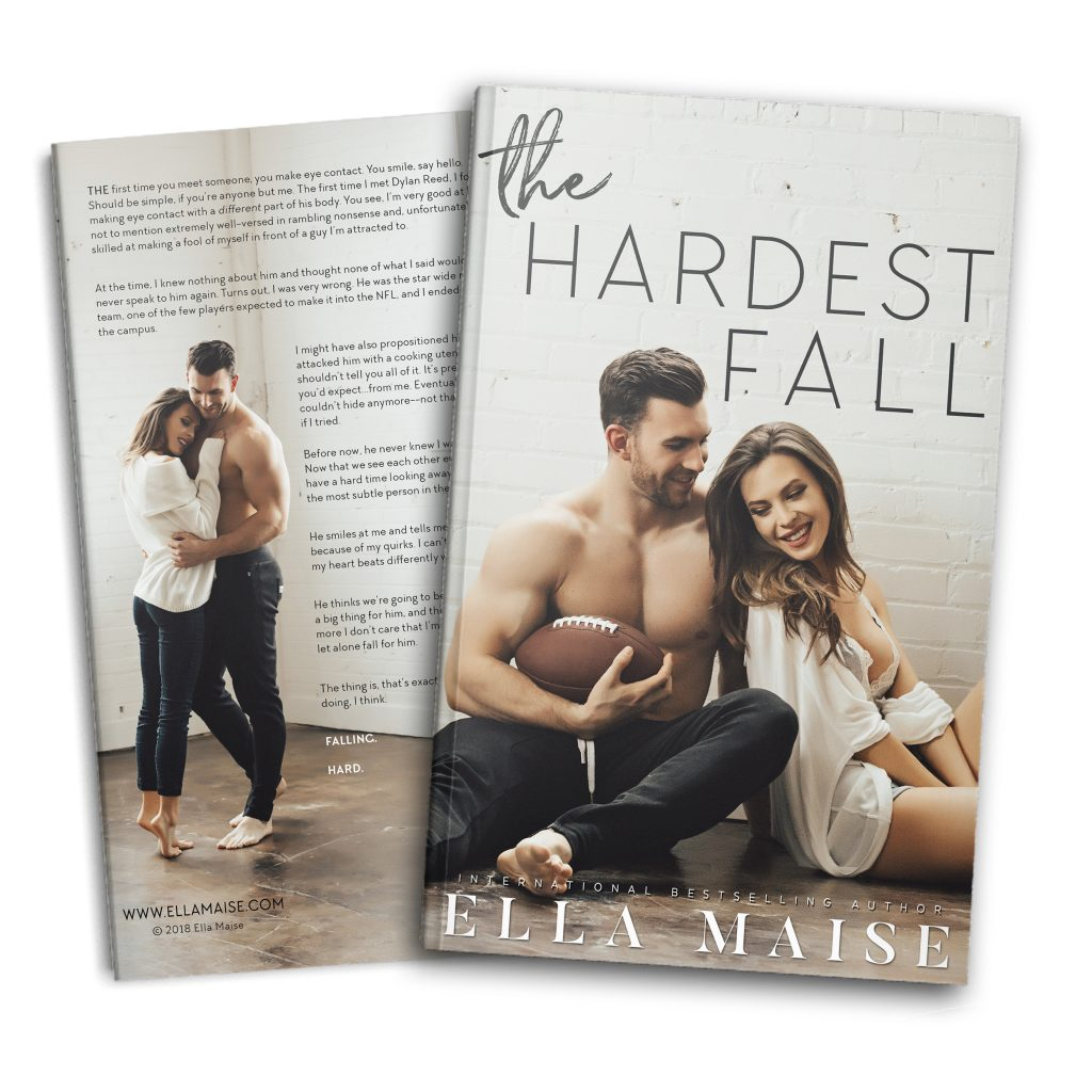 The Hardest Fall Cover Reveal